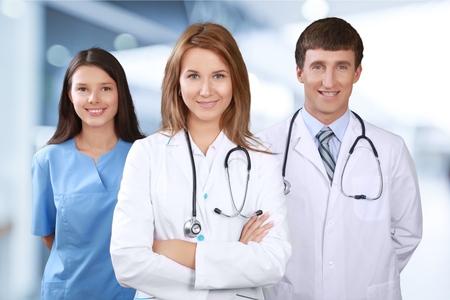 healthcare professional: Nurse, Doctor, Healthcare And Medicine. Stock Photo