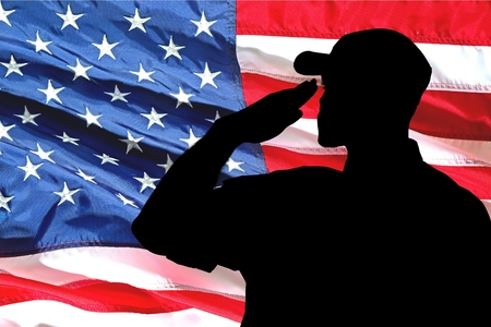 marine: Armed Forces, Saluting, Marines.