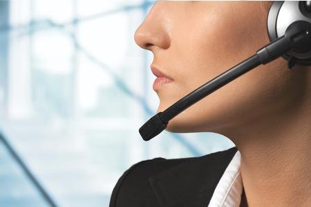 center: Call Center, Customer Service Representative, Telephone.