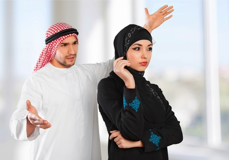 berserk: Muslim, tension, woman.