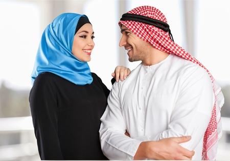 husbands and wives: White, arab, arabic.