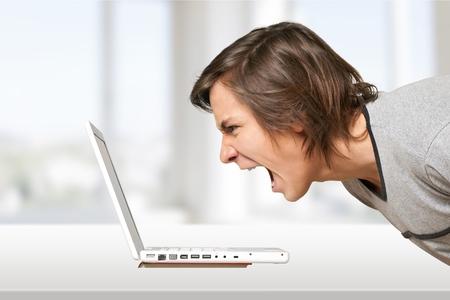 technophobe: Computer, Frustration, Problems.