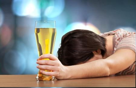 drunk: Women, Drunk, Alcoholism.