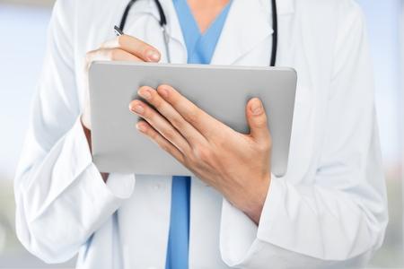 electronic organizer: Healthcare And Medicine, Doctor, Medical Exam.