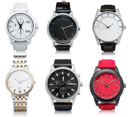Watch, compass, bracelet.