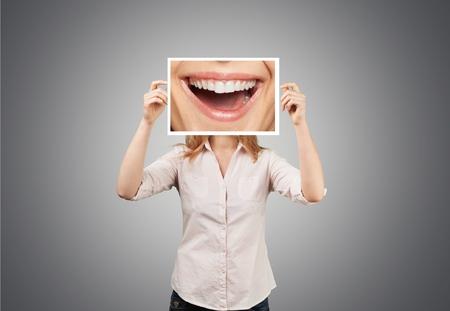 Zahnarzt, Lächeln, Freude.