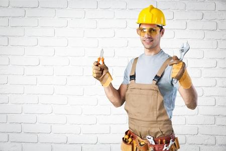 laborer: Build, background, laborer.