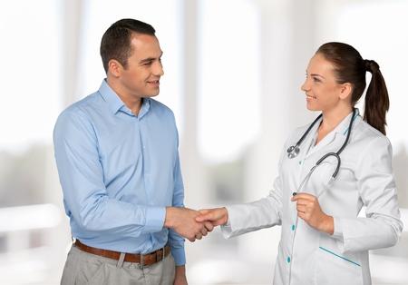medico con paciente: Doctor, Paciente, Mujer.