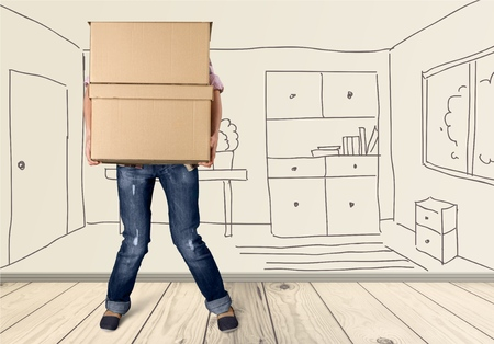 hand holding house: Moving House, Box, Physical Activity.