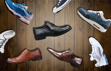 footwear: Footwear, woman, gym.