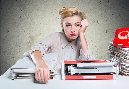 old desk: Desk, document, old fashioned.