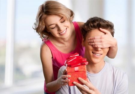 heterosexual: Gift, Couple, Heterosexual Couple.