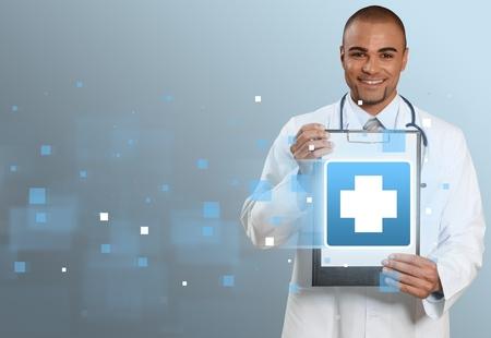 emergencia medica: Médico, emergencia, la ayuda. Foto de archivo