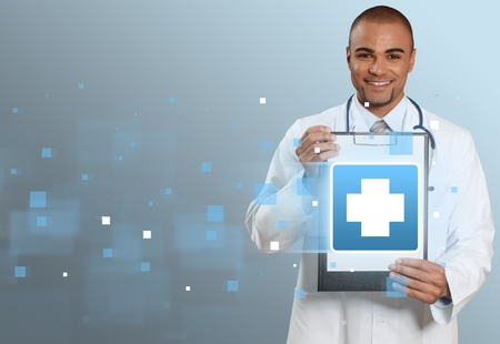 medical services: Medical, emergency, aid. Stock Photo