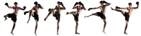 thailand art: Kickboxing, thai, boxing.