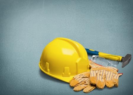 work tool: Work Tool, Hardhat, Repairing.