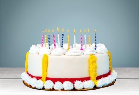 gateau anniversaire: Anniversaire, gâteau d'anniversaire, gâteau.