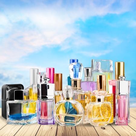perfume spray: Perfume, Scented, Perfume Sprayer. Stock Photo