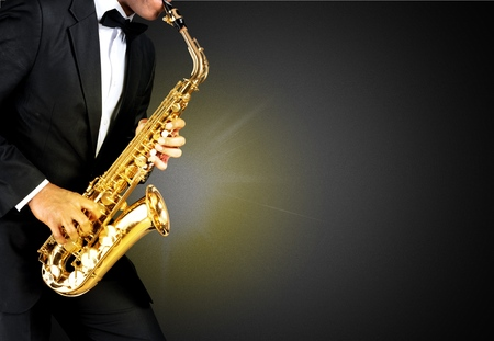 african sax: Sax, melody, handsome.