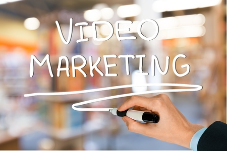 video sharing: Video, content, sharing. Stock Photo