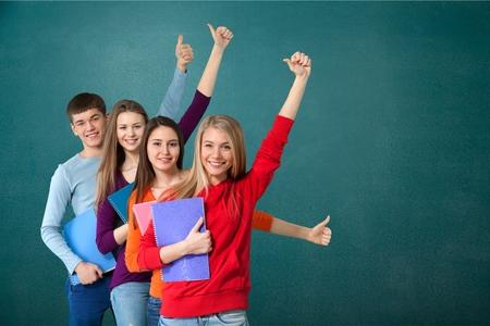 erwachsene: Studenten, Schüler, Student.