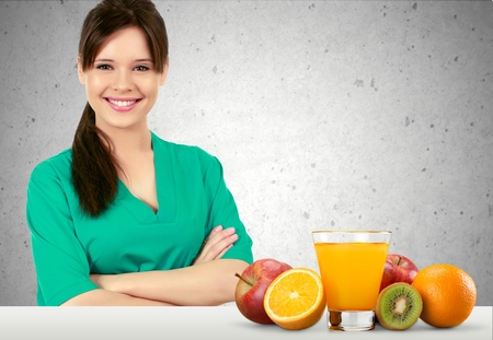 healthcare worker: Nutritionist, dietician, food.