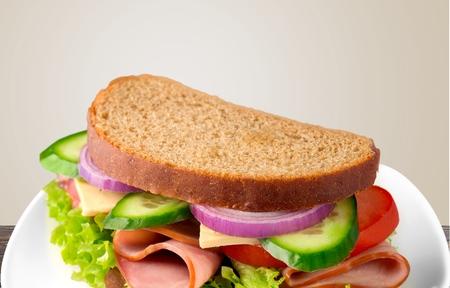 jamon y queso: Sandwich, Jam�n, Queso.