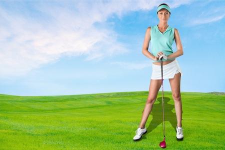 sensuality: Golf, Sensuality, Women.