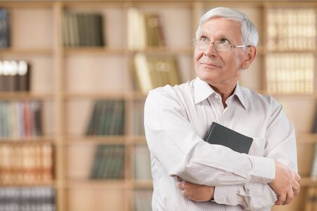 confidence: Manager, People, Book. Stock Photo
