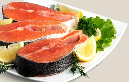 preparaba: Salm�n, mariscos, pescados preparados.