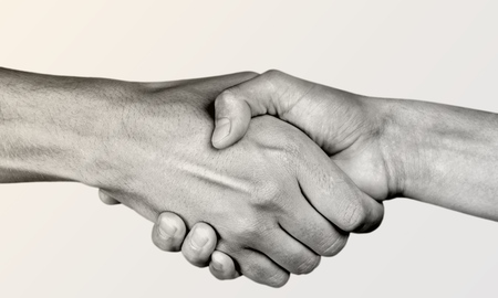 touching hands: Help, hand, partnership.