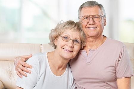 80 plus years: Nursing Home, Senior Adult, Old. Stock Photo