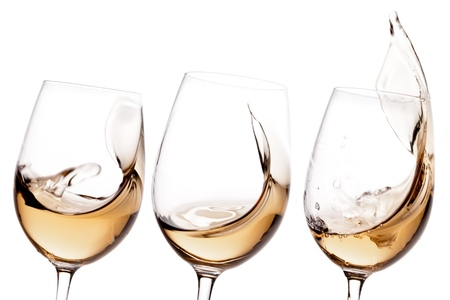white wine: Wine, White Wine, Glass.