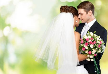 cérémonie mariage: Mariage, Mariée, Le marié. Banque d'images