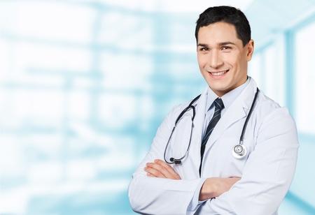 Doctor, physician, senior. Stockfoto