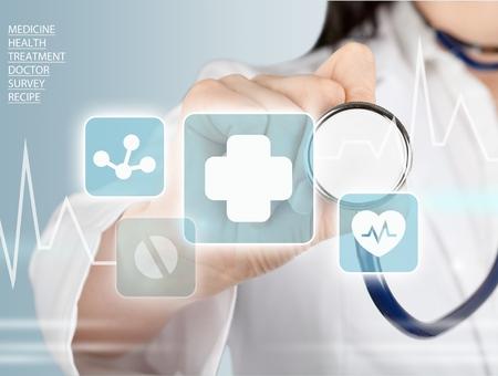 gezondheid: Medisch, geneeskunde, gezondheid. Stockfoto