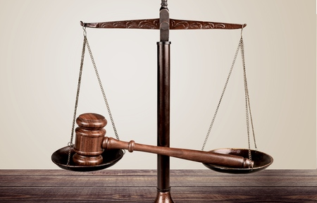 justiz: Law, Justizsystem, Waage der Gerechtigkeit.