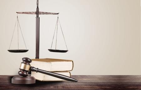 defendant: Law, rights, closeup. Stock Photo