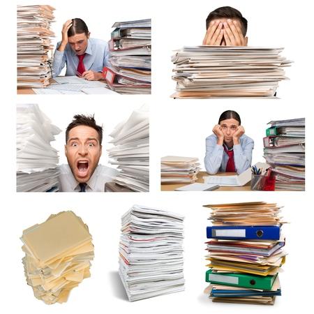 paper stack: Stack, Paperwork, Paper.