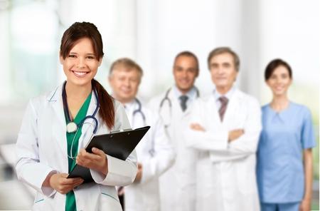 医療、グループ、薬剤師。 写真素材