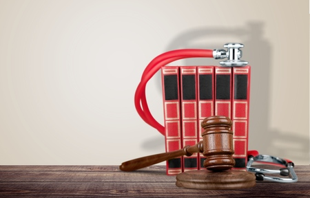 mistreatment: Law, medical, business. Stock Photo