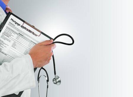 instrumental medico: Doctor, clínica, clínica.