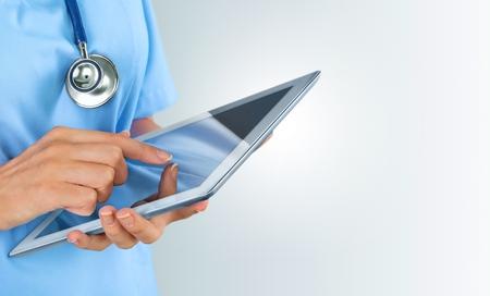 equipos medicos: Doctor,, salud. Foto de archivo