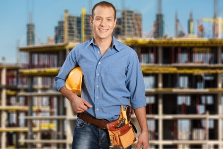 trabajadores: Trabajador de construcción, Trabajador manual, Construcción.