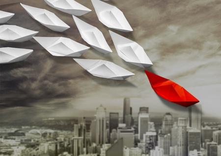 leiderschap: Origami, Leiderschap, Watervaartuig.