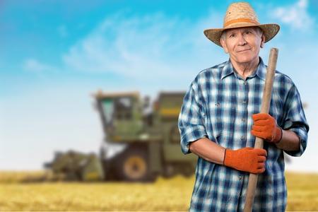 wrinkled: Gardening, Senior Adult, Men.
