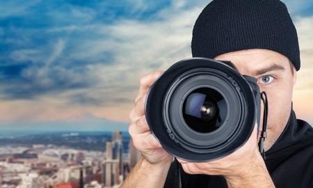 paparazzi: Photographer, Camera, Paparazzi Photographer.