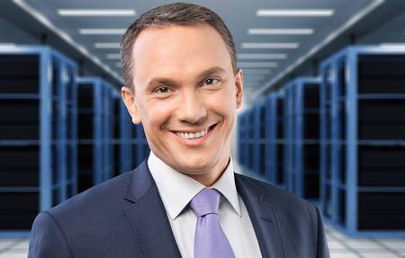 mature adult: Businessman, CEO, Mature Adult. Stock Photo