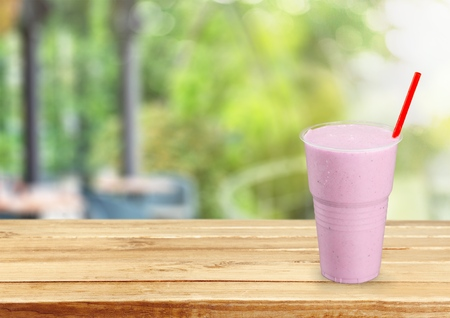 go: Cup, takeaway, plastic. Stock Photo