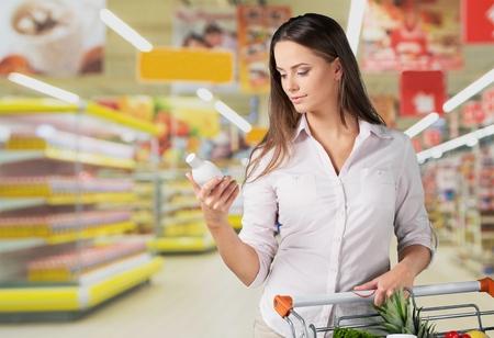 Supermarket, Food, Groceries.